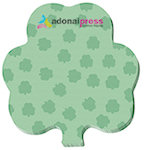 100 Sheet 3 x 3 Shamrock Sticky Notes